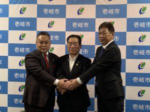 長崎県壱岐市と連携協力協定を締結いたしました